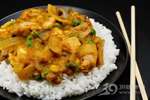 咖喱 米饭 咖喱鸡 洋葱 玉米 筷子_15379568_xxl