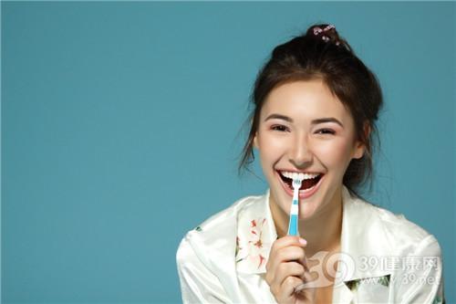 青年 女 刷牙 牙刷 牙齿_16717335_xxl