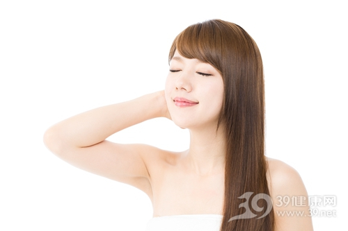 青年 女 美容 皮肤 长发 头发 直发_16336516_xxl