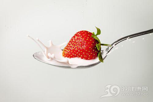 草莓 牛奶 勺子_11187670_xxl