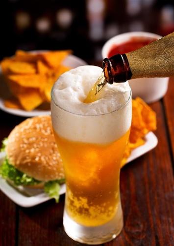 啤酒 汉堡 快餐_15629294_xxl