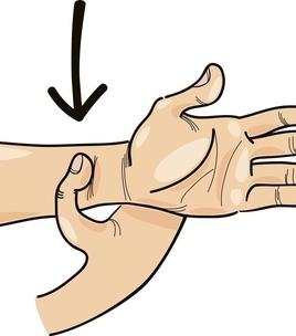 六个动作都很简单,都靠在手掌上!
