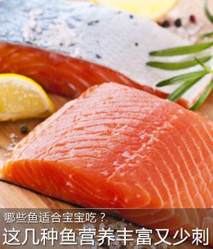 这几种鱼最适合宝宝吃