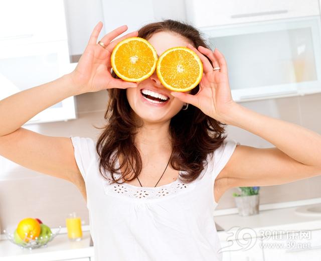 青年 女 橙子 水果 厨房_18941092_xxl