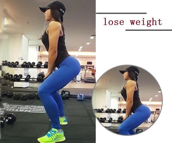 深蹲不限制場地就可以輕鬆減肥