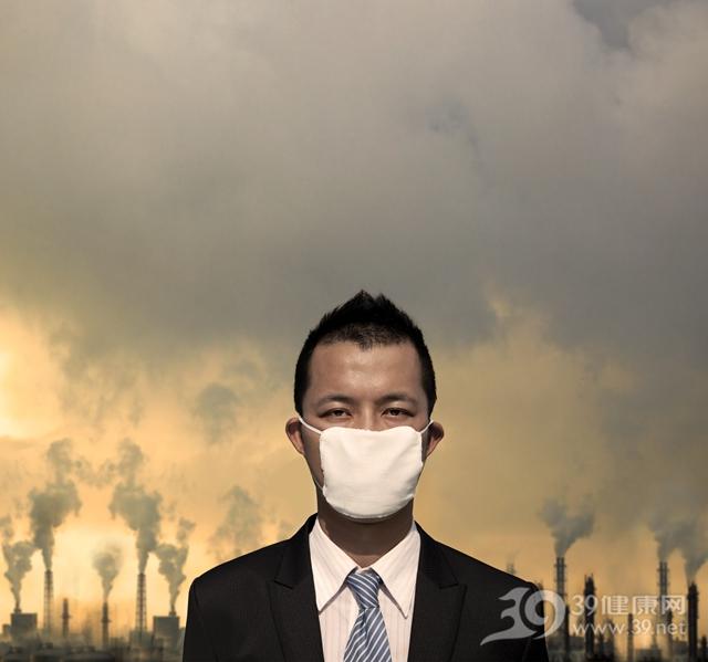 空气 污染 雾霾 工业 烟囱 青年 男 口罩 防尘_11013012_xxl