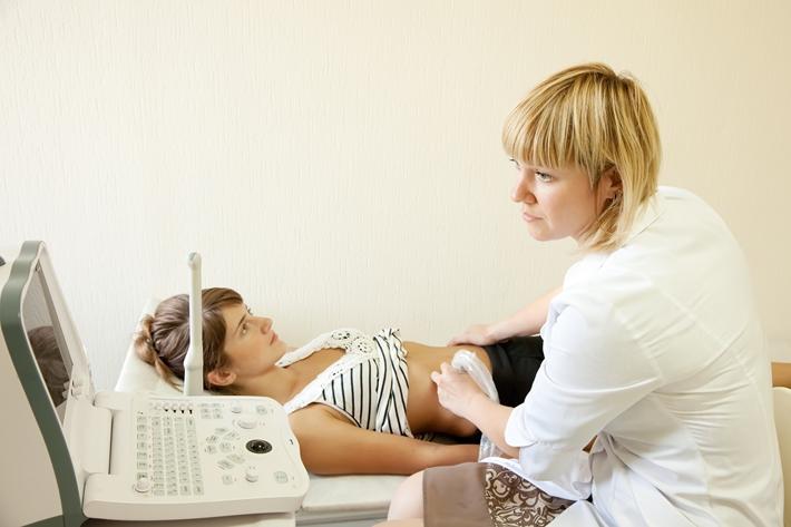 青年 女 怀孕 产检 验孕 B超 彩超 超声波 医生_ 12006662_xxl