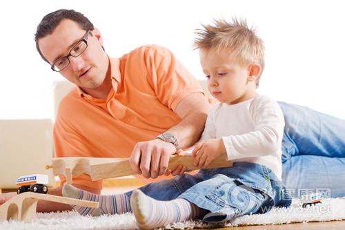 父子玩乐-儿童-男孩