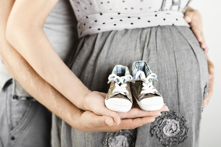 怀孕 孕妇 爸爸 妈妈 鞋子_15605088_xxl