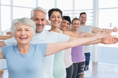 中老年 男 女 运动 健身_28411468_xxl