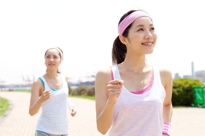 青年 女 运动 健身 跑步 慢跑_13972764_xxl