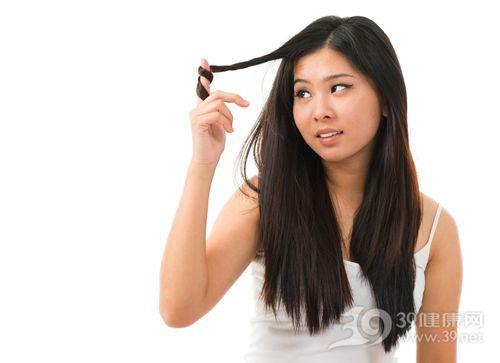 青年 女 头发 长头发 烦恼_15429821_xxl
