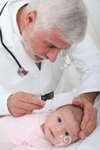 孩子 婴儿 医生 检查 体检 耳朵 体温 体温计_9634811_xxl