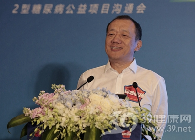 中华社会救助基金会秘书长胡广华先生