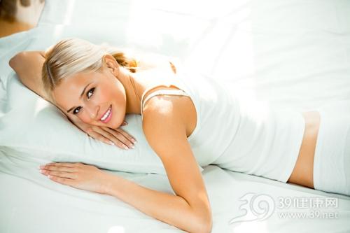 青年 女 床 睡觉 睡衣_8773235_xxl