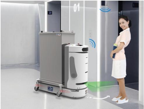 医院智慧物流系统,包括气动物流传输系统,轨道小车物流系统,箱式图片