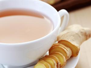 饭后喝杯姜茶可防妇科病