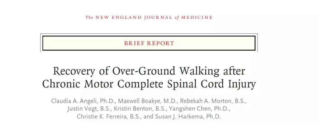 高能,截瘫患者也能站起来了!