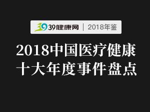 请回答2018:年度十大医疗事件