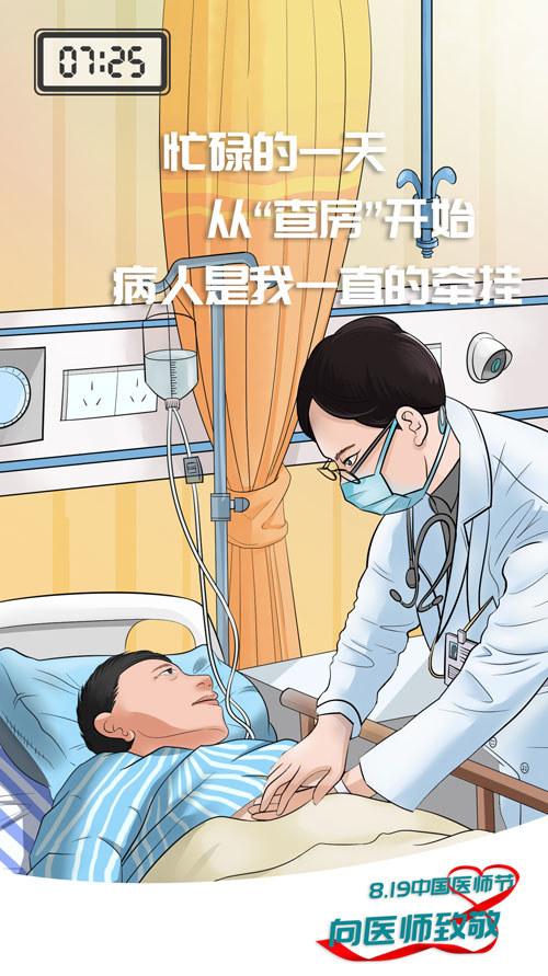 819中国医师节特辑|走进医生忙碌的一天,体验他们的日常生活