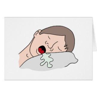 睡觉流口水