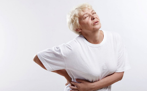 腰酸背痛图片