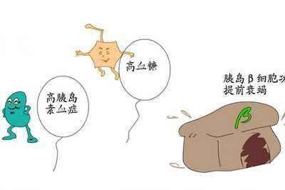 胰岛细胞破坏