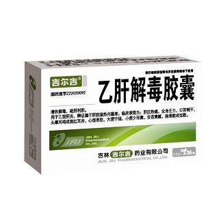 乙肝解毒胶囊(吉尔吉)