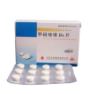 甲硝唑维B6片