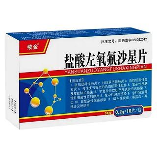 盐酸左氧氟沙星片(一品)