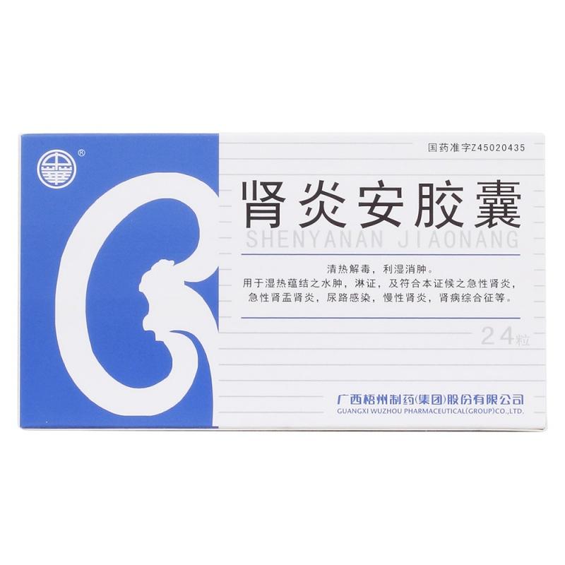 肾炎安胶囊(中华)
