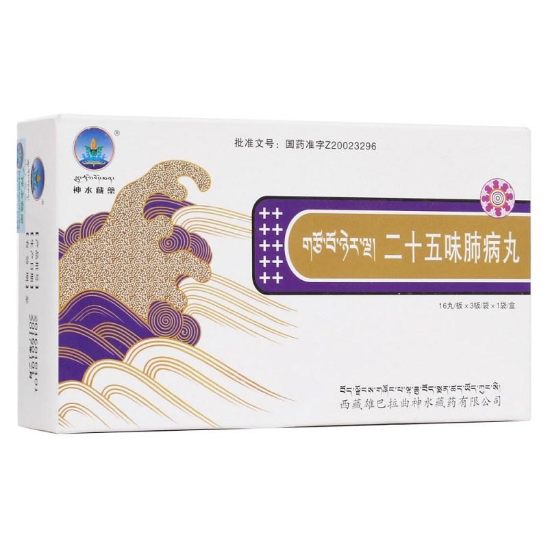 二十五味肺病丸(神水藏药)