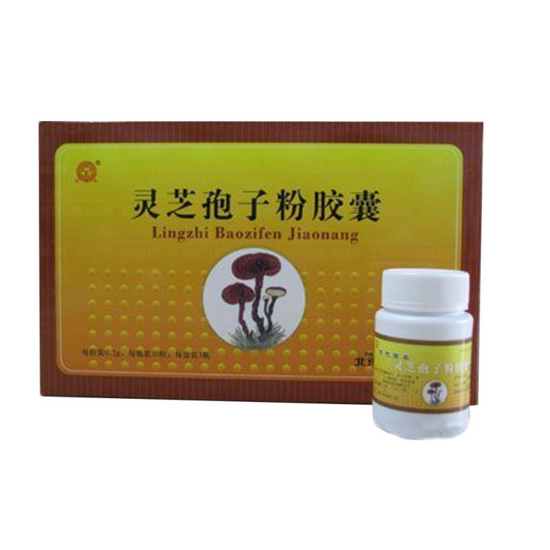 灵芝孢子粉胶囊(长城)