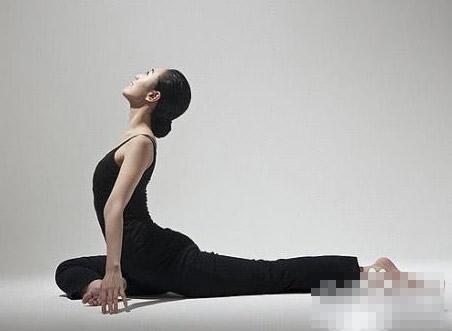 瘦腿瑜伽動作