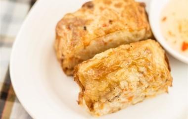 玉子虾仁的做法步骤3:准备鲜虾肉