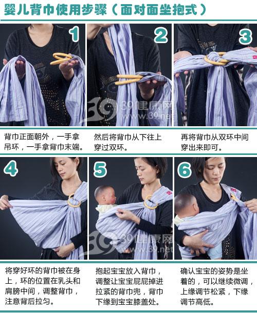 評測項目二-穿脫方式-背巾