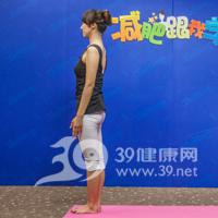 新月式瘦腿瑜伽8