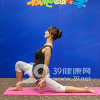 新月式瘦腿瑜伽6