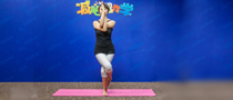 下期主题:鸟王式瘦腿瑜伽