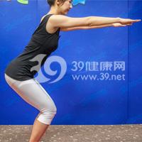 鸟王式瘦腿瑜伽8