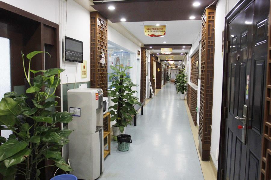 南京仁康医院楼道