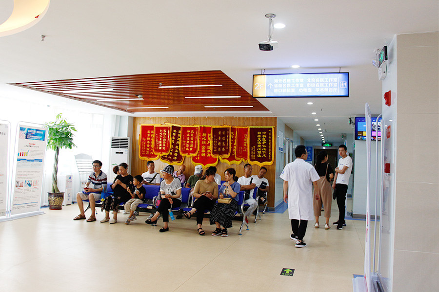 郑州中科甲状腺医院一角