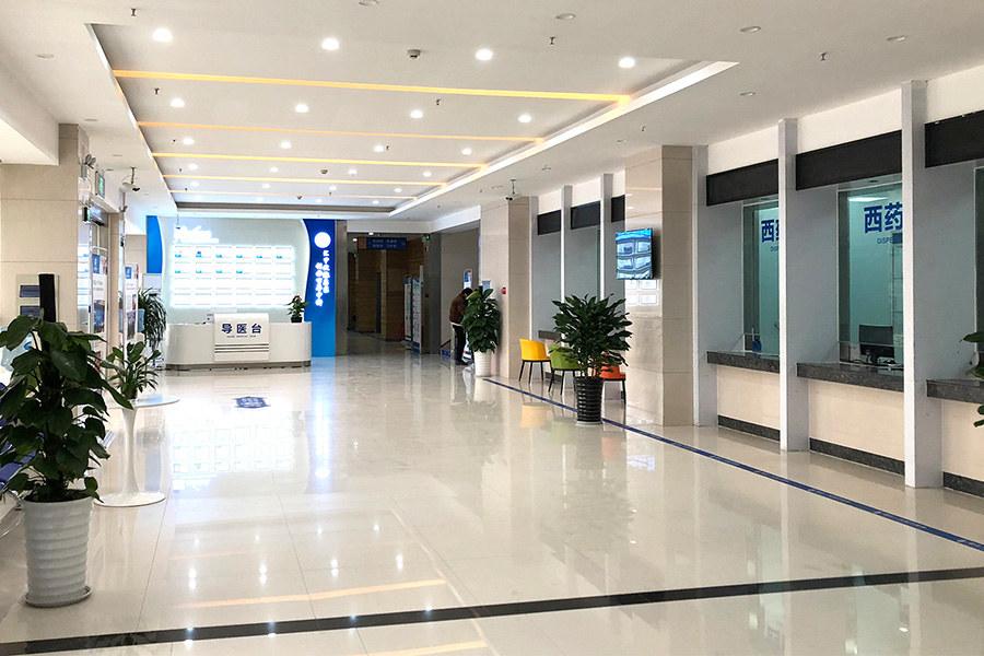 郑州中科甲状腺医院一楼大厅