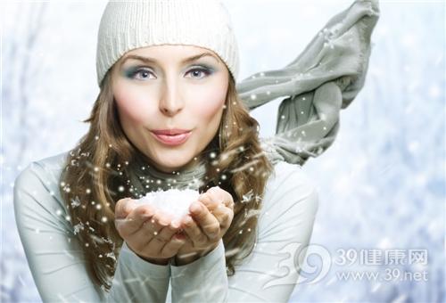 青年 女 美容 彩妆 冬天 雪_8253219_xl