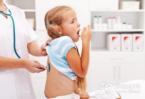 孩子 女 咳嗽 生病 检查 听诊器 医院 医生 就诊 看病_15720192_xxl