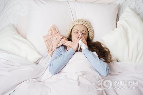 青年 女 生病 感冒 流感 鼻炎_ 26337807_xxl