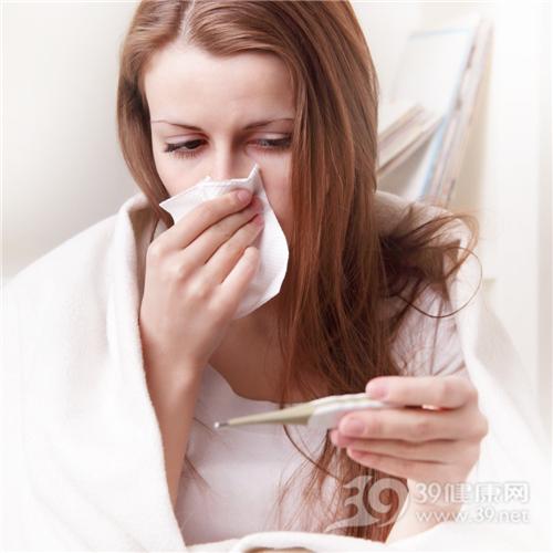青年 女 生病 感冒 发烧 温度计_29643730_xxl
