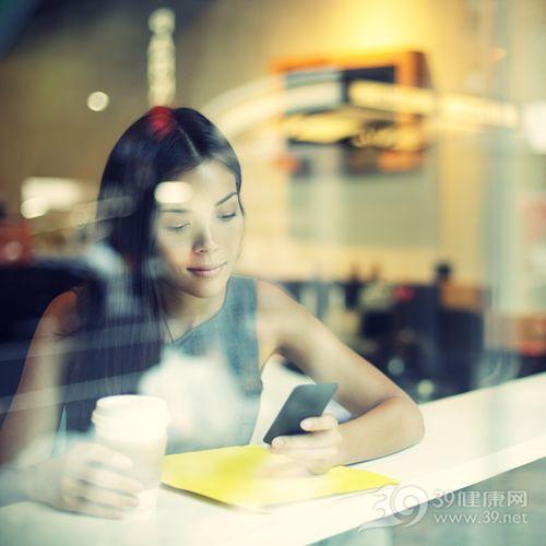 青年 女 咖啡 手机_21255890_xxl