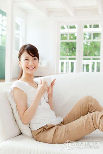 青年 女 家居 喝茶 咖啡_15011380_xxl