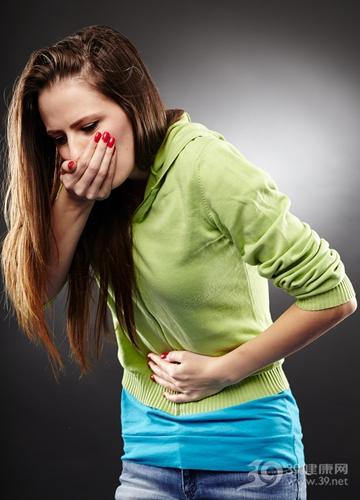 青年 女 生病 腹部 疼痛 恶心 呕吐 怀孕 肠胃炎_ 25084287_xxl